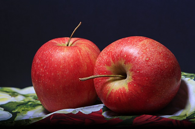 Apples, Red, Pair, Fruits, Red Apples, Fresh Apples