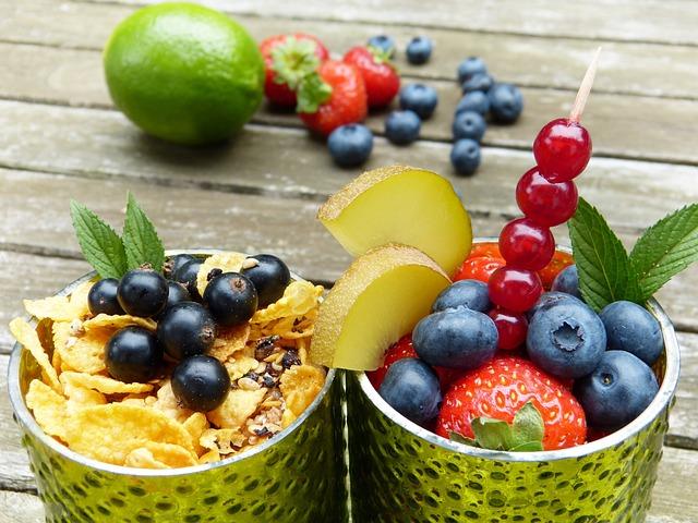 Fruits, Fruit, Glasses, Light Green, Vitamins, Healthy