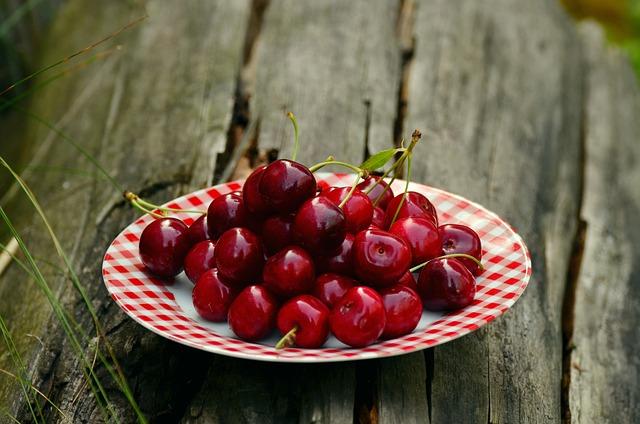 Cherries, Fruits, Sweet Cherry, Cherry Harvest, Fruit