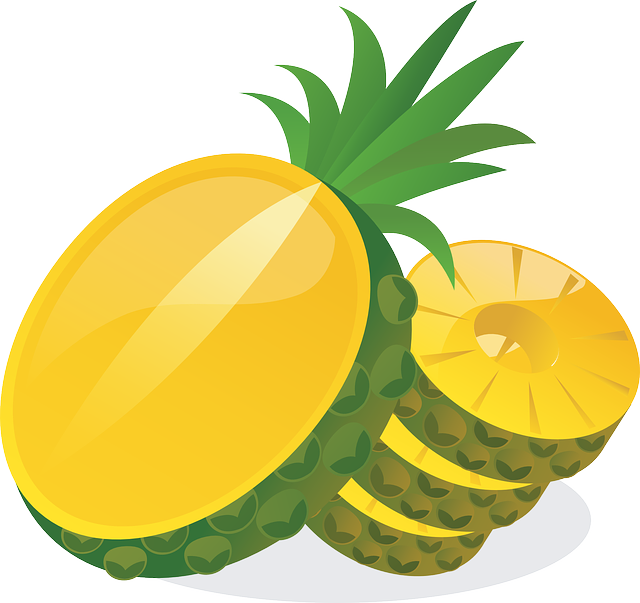 Pineapple, Sweet, Yellow, Delicious, Ripe, Fruity
