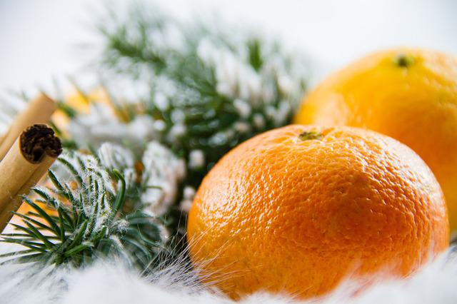 Mandarin, Fruit, Advent, Healthy, Fruity, Eat