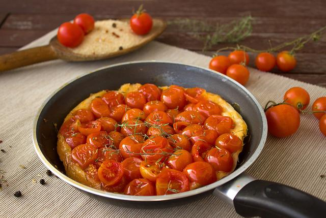 Tomatoes, Puff Pastry, Tarte, Cake, Pan, Fry Up, Dough
