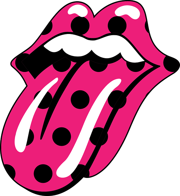 Fuchsia, Mouth, The Rolling Stones, Mick Jagger
