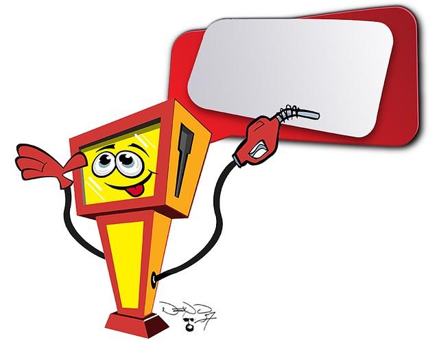 Cartoon, Petrol, Gas Pump, Petrol Stations, Fuel, Gas