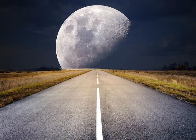 Moon, Full Moon, Moonlight, Super Moon, Night