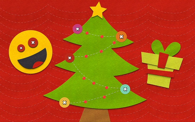 Christmas, Fun, Symbol, Ornament, Illustration