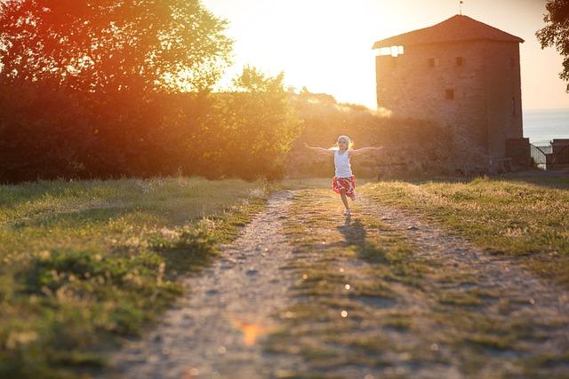 Girl, Childhood, Fun, Happiness, Park, Kid, Preschooler