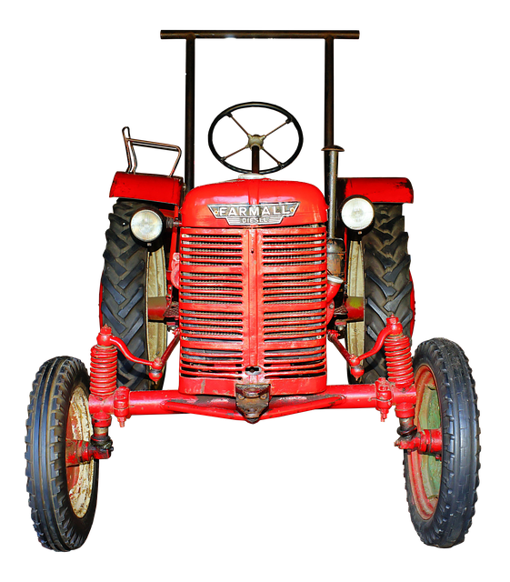 Farmall, Diesel, Tractor, Functional, Agriculture