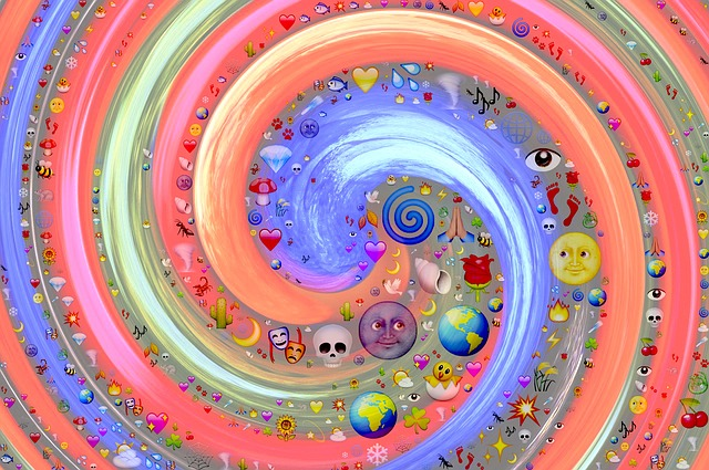Swirl, Vortex, Emoji, Cyclone, Motion, Spiral, Funnel
