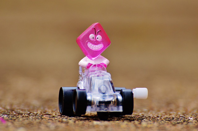 Racing Car, Fig, Funny, Toys, Children, Colorful, Cute