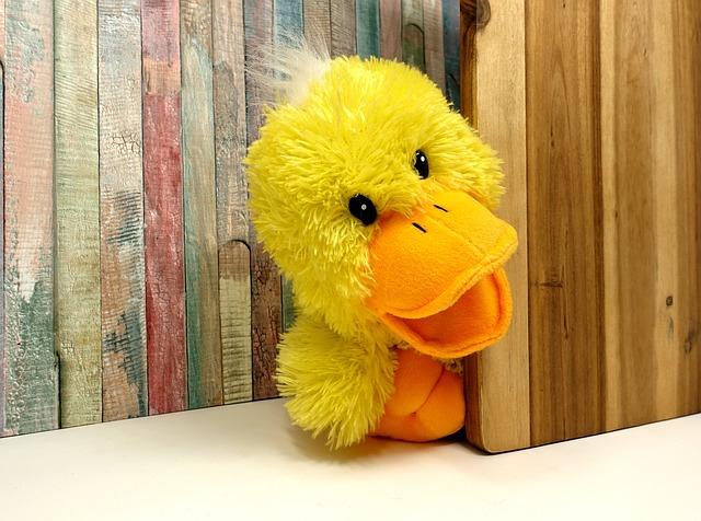 Duck, Stuffed Animal, Funny, Soft Toy, Cute, Children