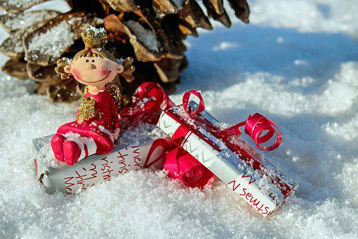 Christmas Angel, Fig, Angel, Sweet, Cute, Funny