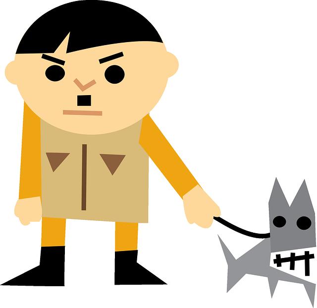 Adolf Hitler, Angry, Bad, Character, Funny, Dog, Leash