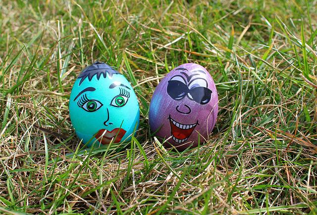 Easter Eggs, Painted, Para, Funny Easter Eggs, Easter