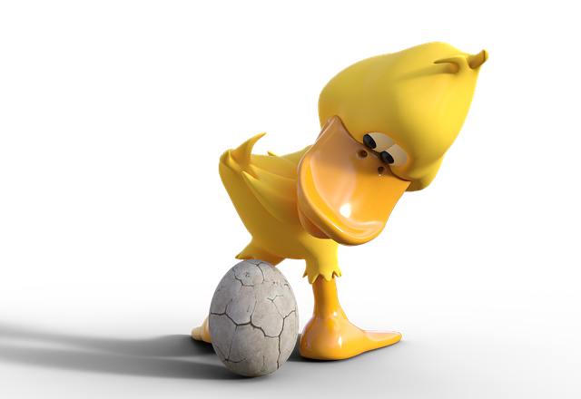 Duck, Goose, Egg, Breed, Chicken, Easter, Place, Funny