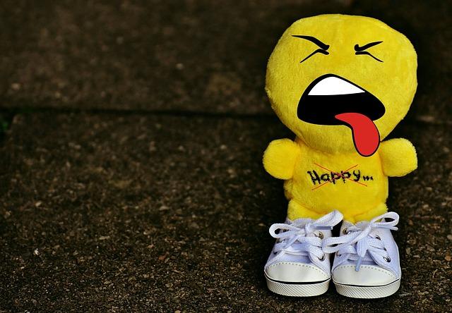 Smiley, Evil, Sneakers, Funny, Emoticon, Emotion