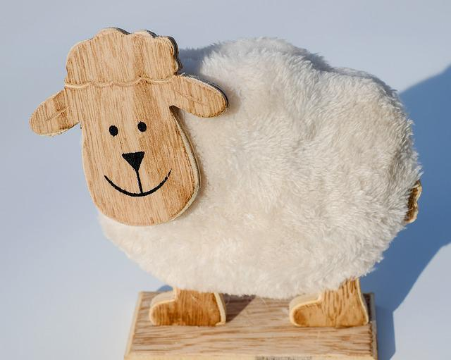 Sheep, Animal, Head, Wood, Sheep Face, Cute, Funny