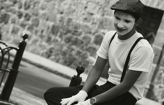 Mime, Guy, Man, Costume, Fear, Emotion, Funny