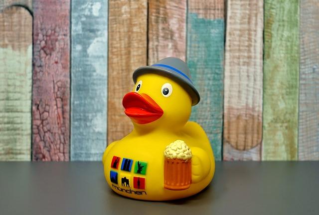 Rubber Duck, Toys, Bath Duck, Squeak Duck, Funny, Cute