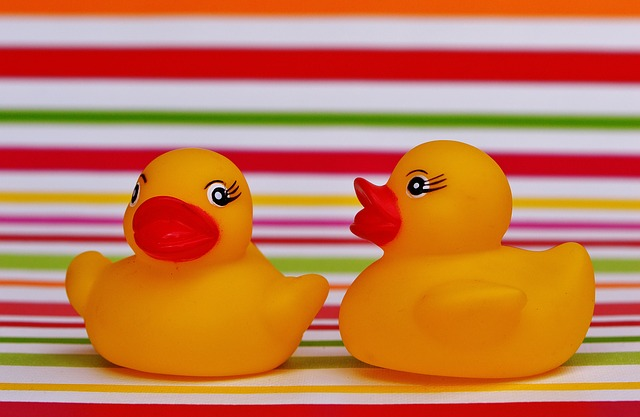 Rubber Ducks, Quietscheente, Funny Summer, Cute