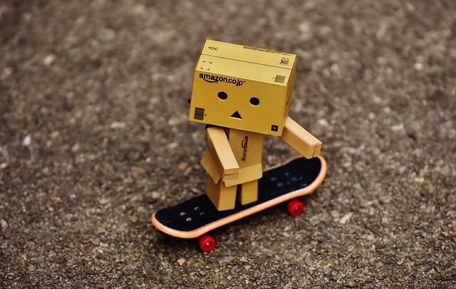 Danbo, Skateboard, Drive, Funny, Figure, Sweet