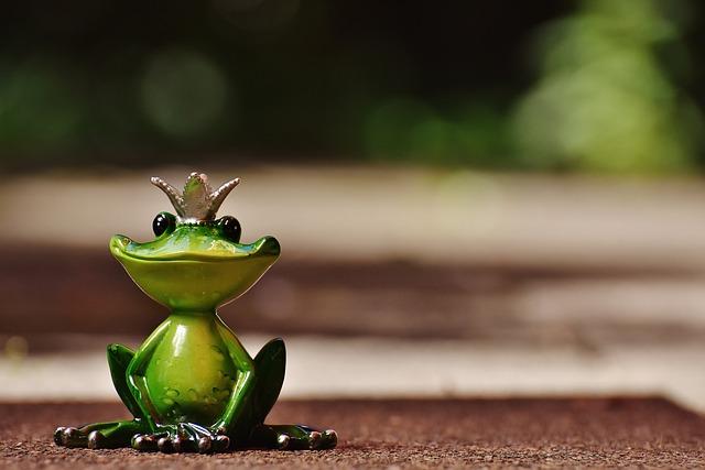 Frog, Frog Prince, Crown, Fig, Cute, Sweet, Funny, Fun