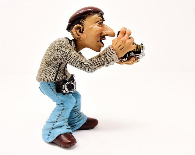 Photographer, Photograph, Tourist, Camera, Funny