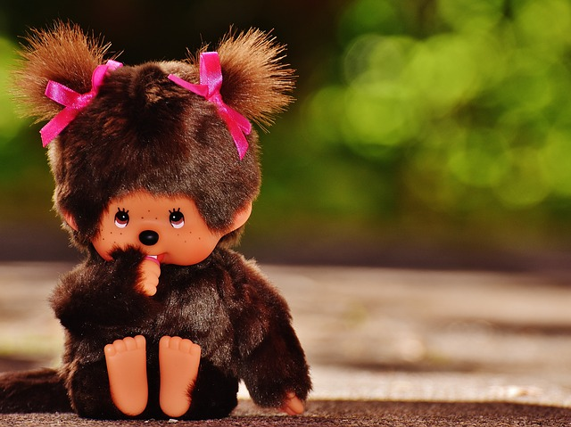 Monchhichi, Soft Toy, Cult, Cute, Toys, Children, Funny