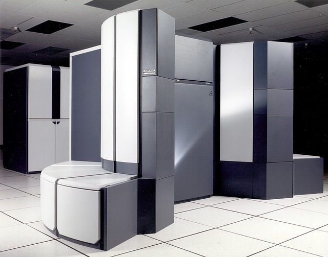 Modern, Furniture, Supercomputer, Computer, Machine