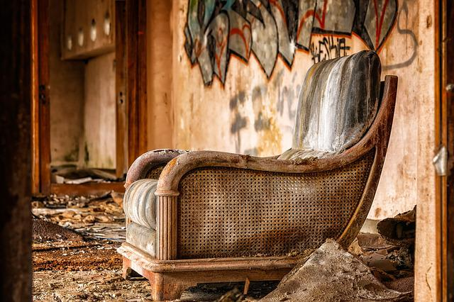 Chair, Furniture, Lost Places, Furniture Pieces, Old