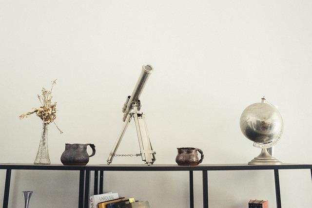 Telescope, Furniture, House, Interior Design, Deco
