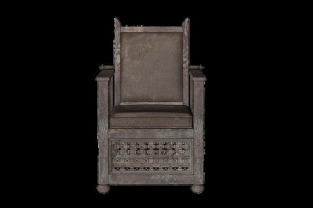 Chair, Wood, Furniture, Brown, Nature, Digital Art