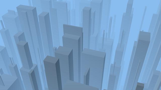 City, Contemporary, Modern, Futuristic, Abstract