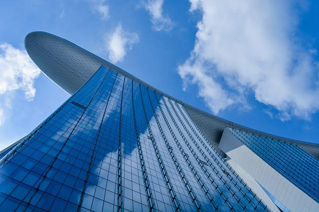 Sky, Architecture, Glass Items, Modern, Futuristic