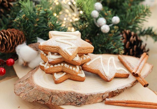 Christmas, Gingerbread, Holiday, Sweet, Cookies, Gala