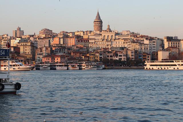 Galata, Istanbul, Marine, Tower, Turkey, Landscape