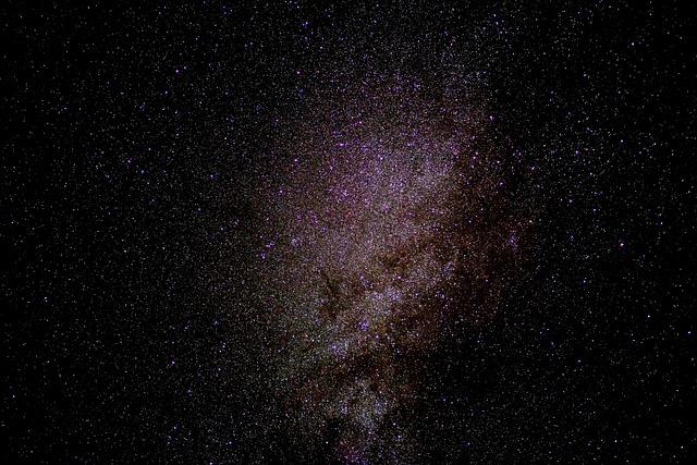 Milky Way, Starry Sky, Star, Galaxies, Night Sky