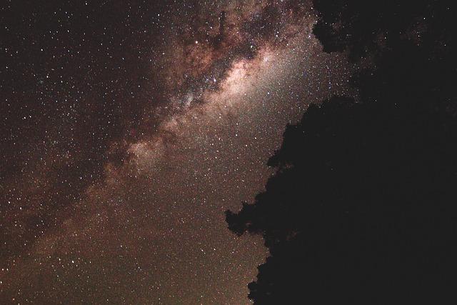 Galaxy, Milky Way, Night, Stars