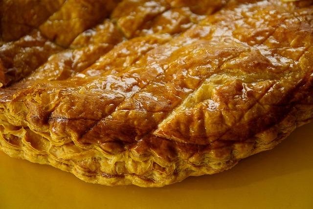 Galette Des Rois, Slab, Pastry, Epiphany