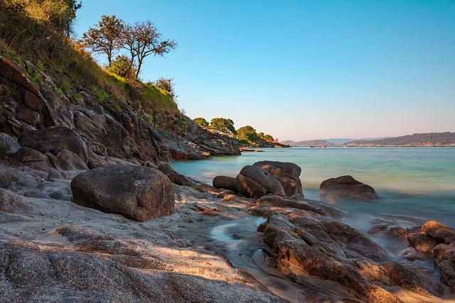Ria, Aldán, Galicia, Beach, Paradise, Water, Pontevedra