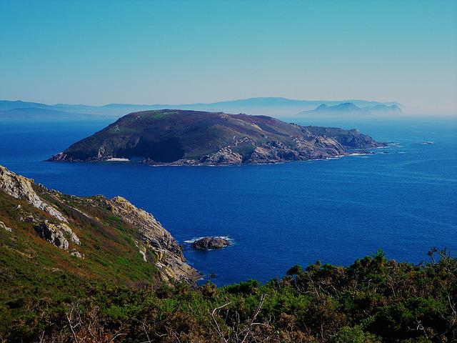 Island, Sea, Landscapes, Costa, Galicia, Nature, Views
