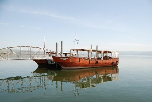 Galilee, Boat, Israel, Lake