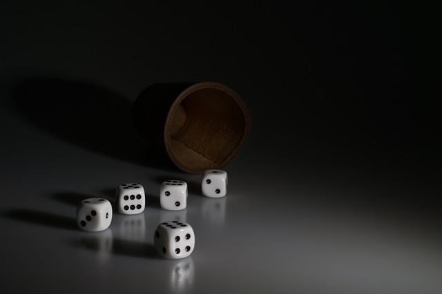 Cube, Shaker, Play, Gesellschaftsspiel, Gambling, Luck
