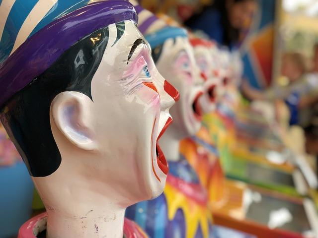 People, Fun, Color, Celebration, Clown, Game, Carnival