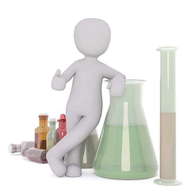 Chemist, Tube, Woman, Work, Man, Mr, Human, Game Figure