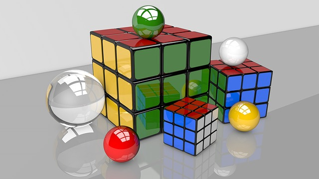 Magic Cube, 3d, Game