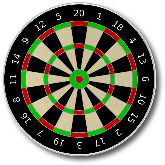 Dart Board, Darts, Target, Game Of Darts, Bull's Eye