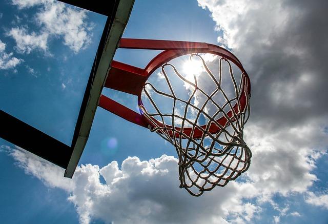 Hoop, Sky, Ball, Outdoors, High, Game