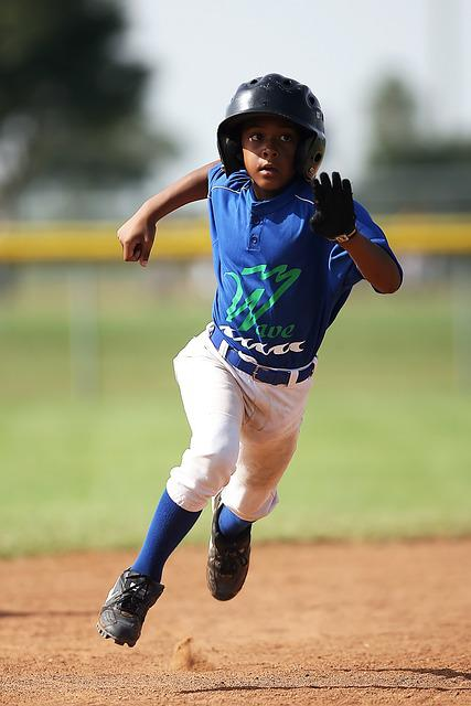 Baseball, Player, Running, Sport, Game, Athlete, Young