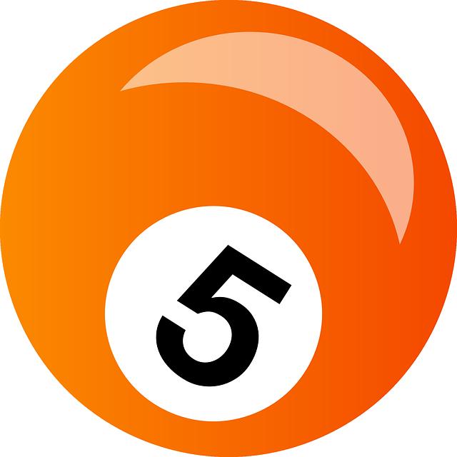 Snooker, Billiard, Ball, Five, Orange, Sport, Game
